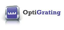 optical grating logo